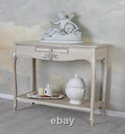 Console Blanc Table Console Country Style Table Murale Antique