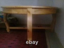Moroccan old berber traditionnal handmade wood table