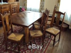 Salle A Manger Ancienne Complete Buffet Table Chaises