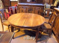 Salle A Manger Complete Buffet+desserte+table+6 Chaise Epoque Art Deco Fruit