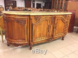 Salle A Manger Style Regence Buffet Table Six Chaises