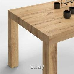 Table Cuisine Extensible Bois Rustique 120x 80 x 76 Made in Italy